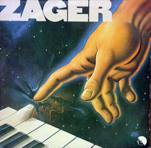Album  Cover Michael Zager Band - Zager on EMI Records from 1980