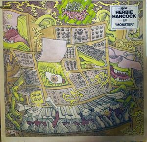 Album  Cover Herbie Hancock - Monster on COLUMBIA (CBS) Records from 1980