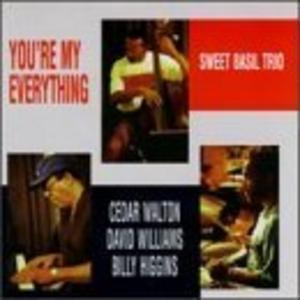Album  Cover Cedar Walton - You're My Everything on EVIDENCE Records from 1997