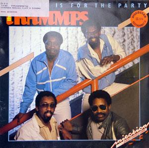 Front Cover Album The Trammps - This One Is For The Party
