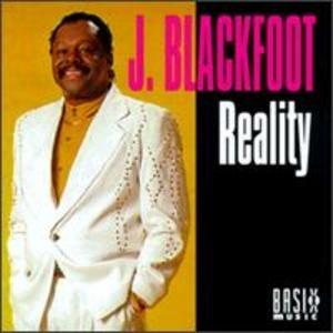 Album  Cover J Blackfoot - Reality on BASIX Records from 1995