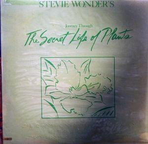 Album  Cover Stevie Wonder - The Secret Life Of Plants on MOTOWN Records from 1979