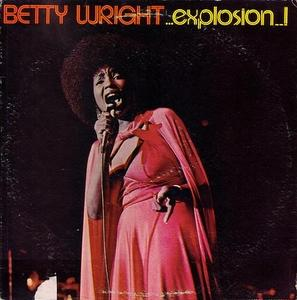 Album  Cover Betty Wright - Explosion on ALSTON Records from 1976