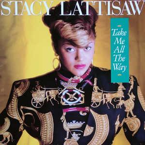 Album  Cover Stacy Lattisaw - Take Me All The Way on MOTOWN Records from 1986