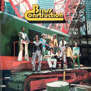 Album  Cover Brass Construction - Brass Construction I on UNITED ARTISTS Records from 1975