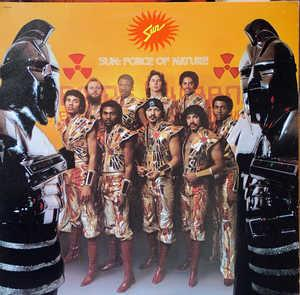 Album  Cover Sun - Force Of Nature on CAPITOL Records from 1981