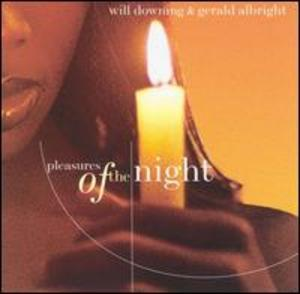 Album  Cover Gerald Albright - Pleasures Of The Night on VERVE FORECAST Records from 1998