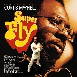 Album  Cover Original Motion Picture Soundtrack - Superfly on CURTOM Records from 1972