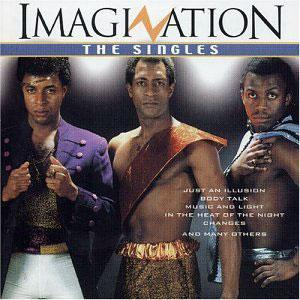 Album  Cover Imagination - The Very Best Of Imagination on IMPORT Records from 1998