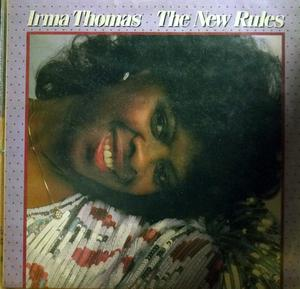 Album  Cover Irma Thomas - The New Rules on ROUNDER Records from 1986
