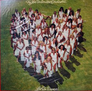 Album  Cover The Love Unlimited Orchestra - Let 'em Dance on UNLIMITED GOLD (CBS) Records from 1981