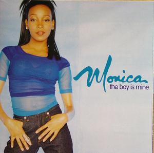 Album  Cover Monica - The Boy Is Mine on ARISTA Records from 1998