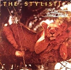 Front Cover Album The Stylistics - The Lion Sleeps Tonight