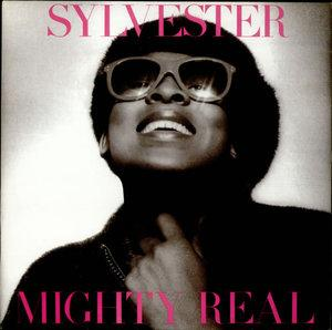 Album  Cover Sylvester - Mighty Real on HONEY Records from 1980