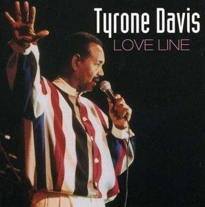Album  Cover Tyrone Davis - Love Line on MALACO Records from 2002
