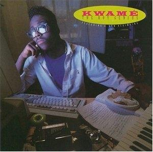Album  Cover Kwamé - The Boy Genius on ATLANTIC Records from 1989