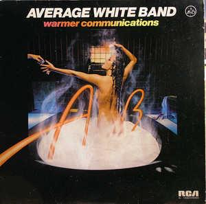 Album  Cover Average White Band - Warmer Communications on RCA Records from 1978