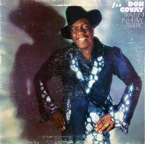 Album  Cover Don Covay - Travelin' In Heavy Traffic on PHILADELPHIA INTERNATIONAL Records from 1976