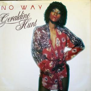 Album  Cover Geraldine Hunt - No Way on PRISM Records from 1980