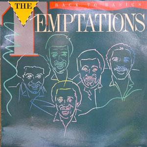 Front Cover Album The Temptations - Back To Basics