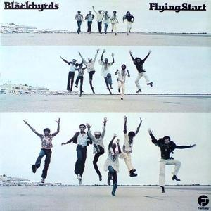 Album  Cover The Blackbyrds - Flying Start on FANTASY Records from 1974