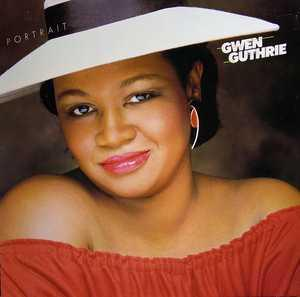 Album  Cover Gwen Guthrie - Portrait on ISLAND Records from 1983