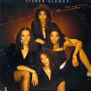 Album  Cover Sister Sledge - The Sisters on COTILLION Records from 1982