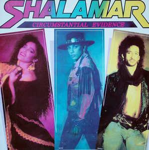 Album  Cover Shalamar - Circumstantial Evidence on SOLAR Records from 1987