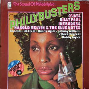 Album  Cover Various Artists - Phillybusters on PHILADELPHIA INTERNATIONAL Records from 1980