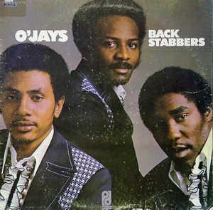 Front Cover Album The O'jays - BackStabbers