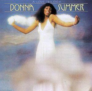 Album  Cover Donna Summer - A Love Trilogy on OASIS Records from 1976