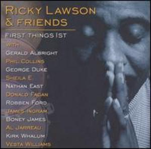 Front Cover Album Ricky Lawson & Friends - First Things 1st