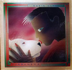 Album  Cover Robin Clark - Surrender on HME Records from 1984
