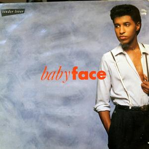 Album  Cover Babyface - Tender Lover on SOLAR Records from 1989