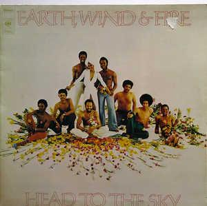 Front Cover Album Wind & Fire Earth - Head To The Sky
