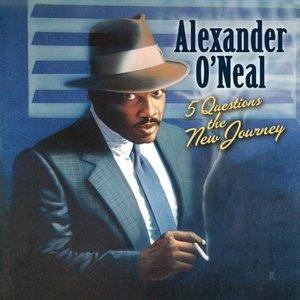 Album  Cover Alexander O' Neal - 5 Questions The New Journey on CC ENT / COPYCATS Records from 2010