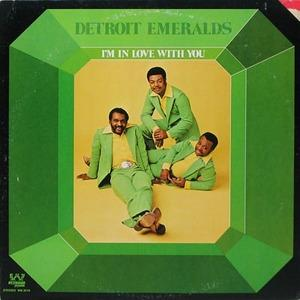 Album  Cover Detroit Emeralds - I'm In Love With You on WESTBOUND Records from 1973