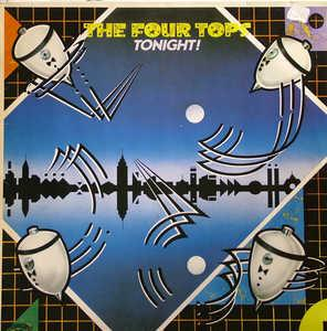 Album  Cover The Four Tops - Tonight! on CASABLANCA Records from 1981