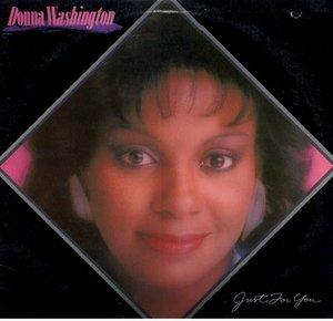 Album  Cover Donna Washington - Just For You on  Records from 1982