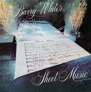 Front Cover Album Barry White - Barry White's Sheet Music