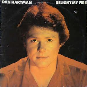 Album  Cover Dan Hartman - Relight My Fire on BLUE SKY Records from 1979
