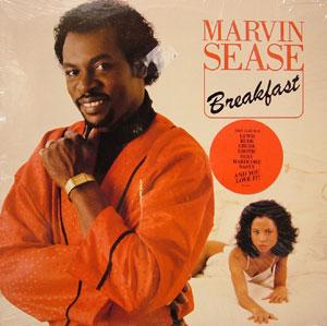 Album  Cover Marvin Sease - Breakfast on POLYGRAM Records from 1988
