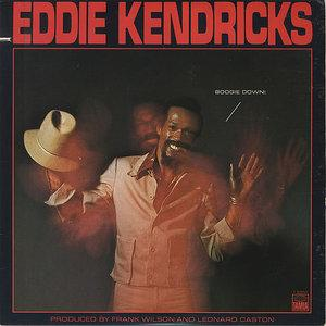 Front Cover Album Eddie Kendricks - Boogie Down!
