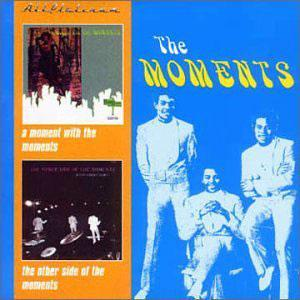 Album  Cover Moments & Whatnauts - A Moment With The Moments on STANG Records from 1970