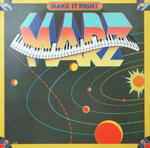 Album  Cover Marz - Make It Right on LIBERTY Records from 1982