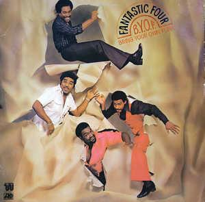Front Cover Album Fantastic Four - B.Y.O.F. (Bring Your Own Funk)