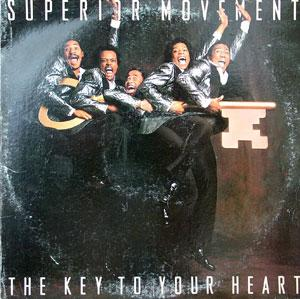 Front Cover Album Superior Movement - The Key To Your Heart