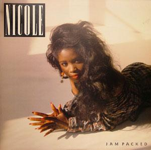 Album  Cover Nicole Mccloud - Jam Packed on TOP SELLER Records from 1988