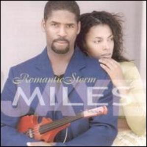 Album  Cover Miles Jaye - Romantic Storm on BLACK TREE Records from 2003