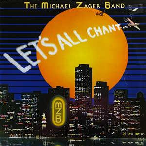 Album  Cover Michael Zager Band - Let's All Chant on PRIVATE STOCK Records from 1978